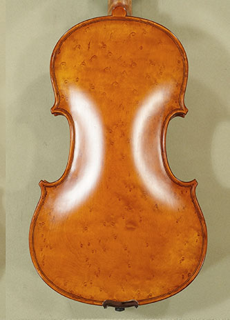 Antiqued 4/4 WORKSHOP \'GEMS 1\' Bird\'s Eye Maple One Piece Back Violin \'Guarneri\'  on sale