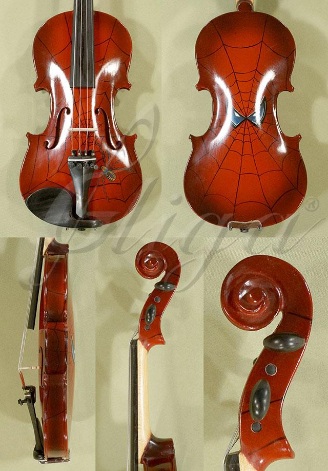 1/4 Student 'GEMS 2' Burgundy Spider Violin