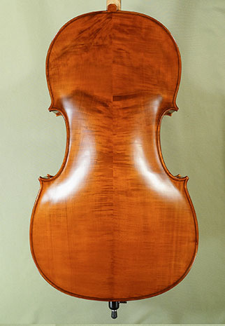 Antiqued 4/4 WORKSHOP \'GEMS 1\' Wild Maple Cello  on sale