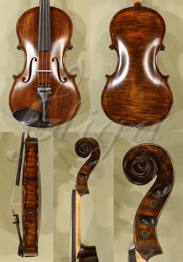 "Stained Antiqued 16.5"" Student 'GEMS 2' Viola"