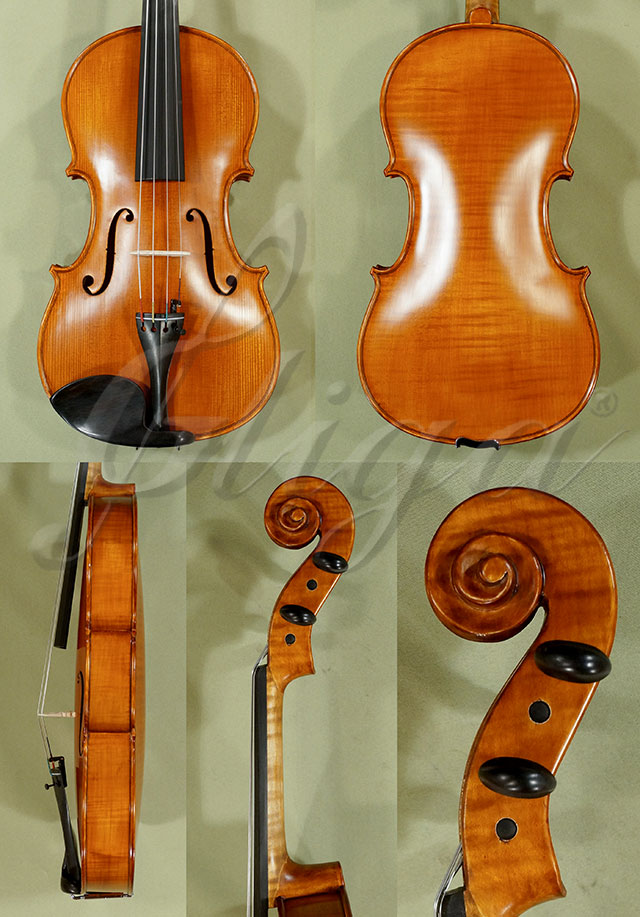 "Antiqued 16"" WORKSHOP 'GEMS 1' One Piece Back Viola"