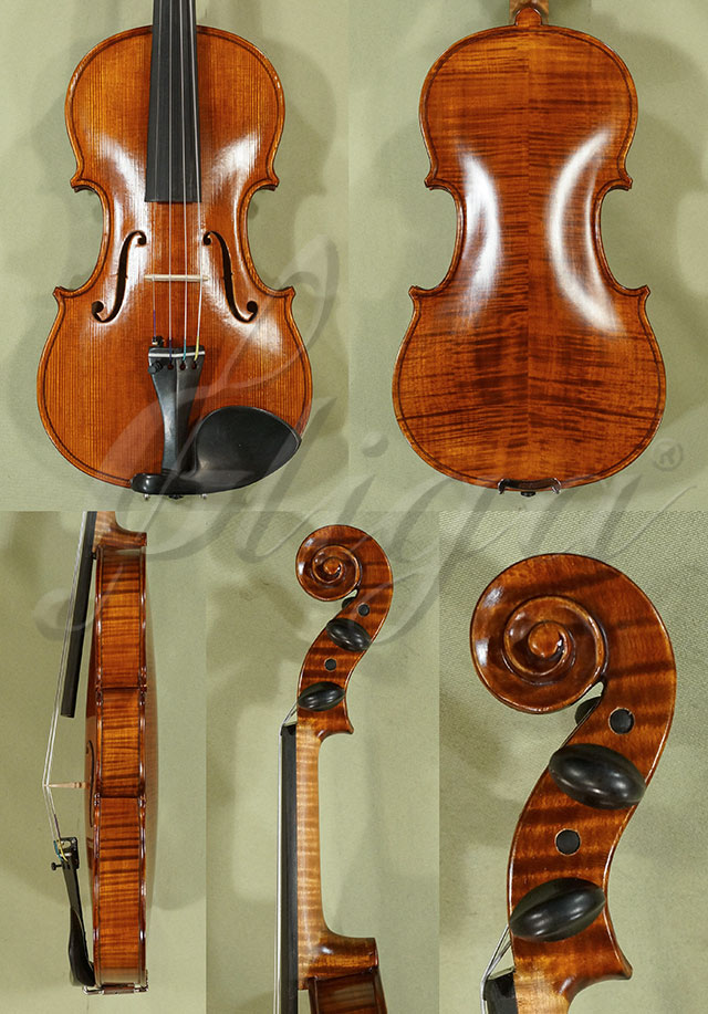 Antiqued 1/2 WORKSHOP 'GEMS 1' Left Handed Violin