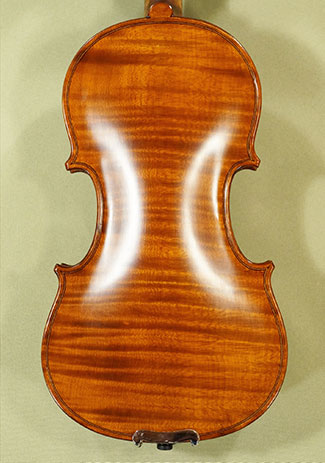 Antiqued 1/4 WORKSHOP 'GEMS 1' One Piece Back Violin