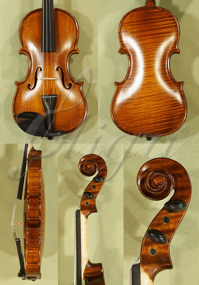 Antiqued 1/10 WORKSHOP 'GEMS 1' One Piece Back Violin