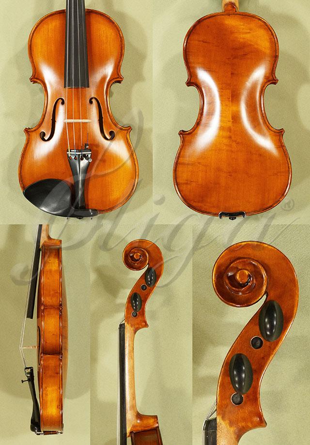 Antiqued 3/4 WORKSHOP 'GEMS 1' Bird's Eye Maple Violin