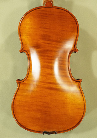 "Antiqued 15.5"" WORKSHOP 'GEMS 1' One Piece Back Viola"