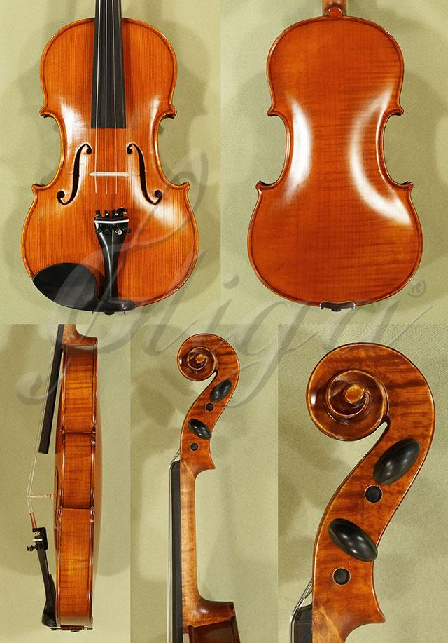 Antiqued 4/4 Student 'GEMS 2' One Piece Back Violin 'Guarneri'