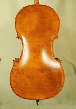 Antiqued 4/4 WORKSHOP \'GEMS 1\' Bird\'s Eye Maple One Piece Back Cello  on sale