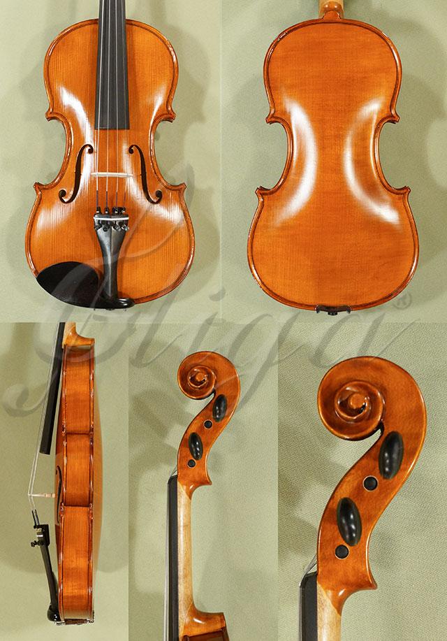 Antiqued 4/4 School 'GENIAL 1-Oil' One Piece Back Violin