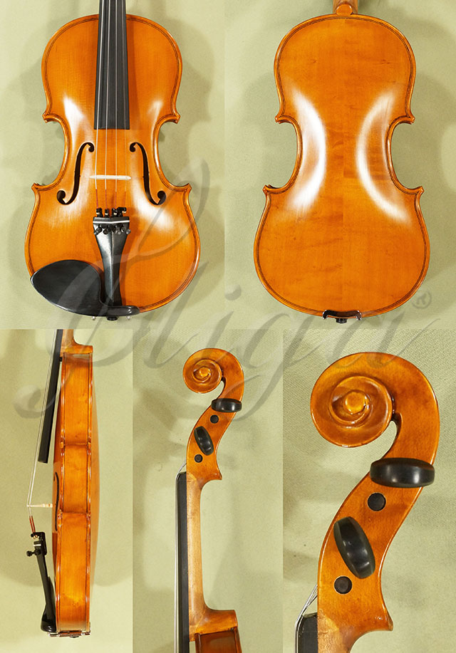 Antiqued 3/4 Student 'GEMS 2' Bird's Eye Maple Violin