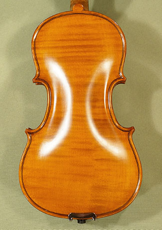 Antiqued 1/8 WORKSHOP \'GEMS 1\' One Piece Back Violin
