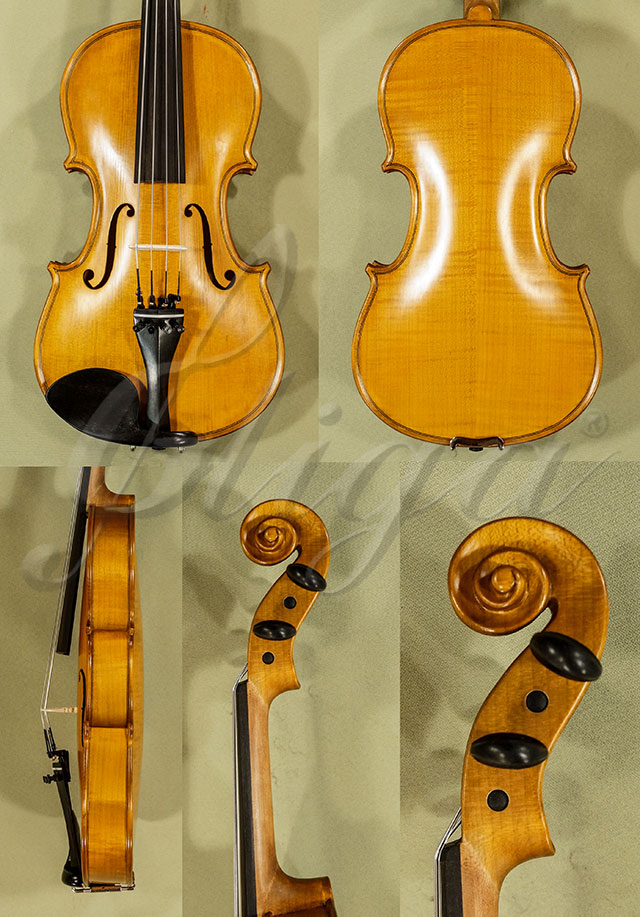 "Antiqued 13"" School 'GENIAL 1-Oil' Viola"