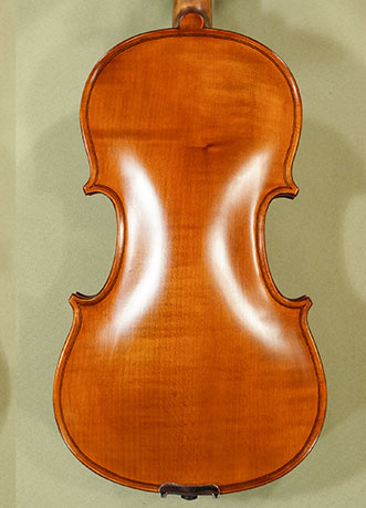 Antiqued 3/4 School \'GENIAL 1-Oil\' One Piece Back Violin on sale