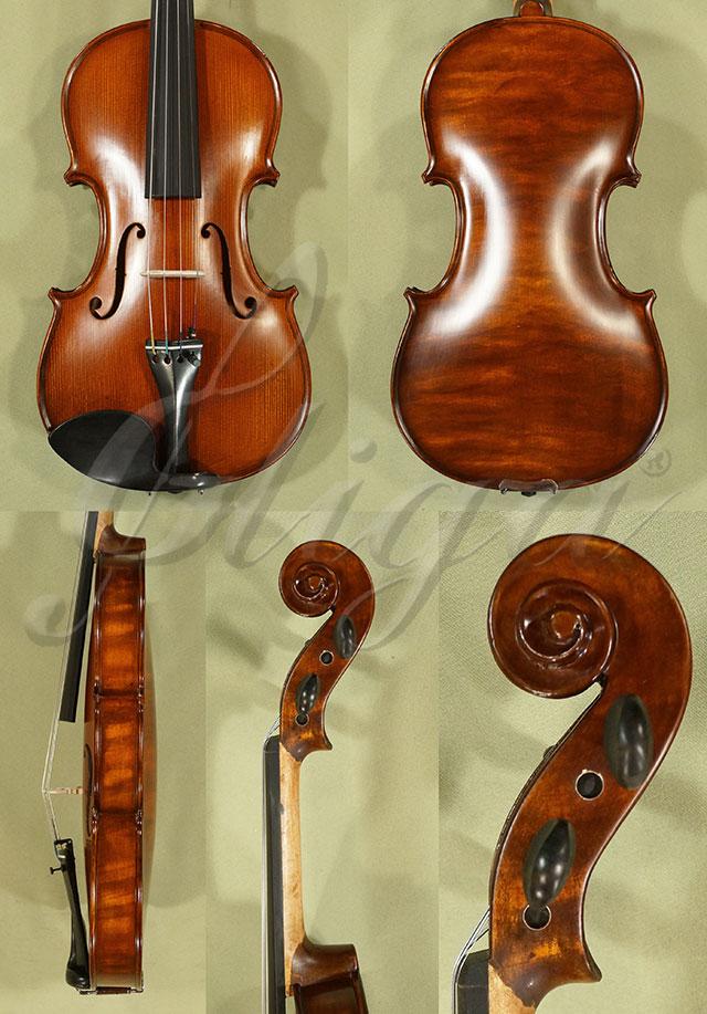 Stained Antiqued 4/4 WORKSHOP 'GEMS 1' One Piece Back Violin