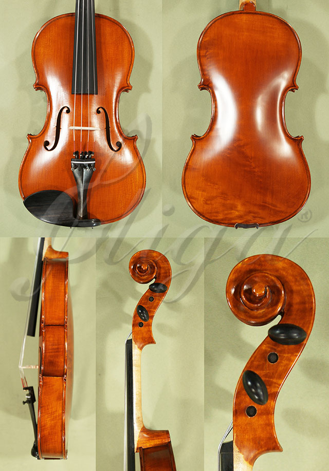 "Antiqued 15.5"" ADVANCED Student 'GEMS 2' One Piece Back Viola"