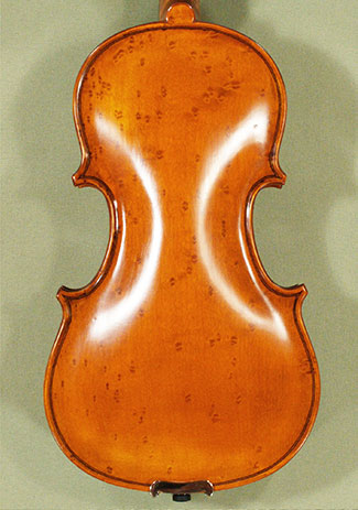 Antiqued 1/8 WORKSHOP 'GEMS 1' Bird's Eye Maple Violin on sale