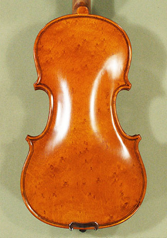 Antiqued 1/8 WORKSHOP 'GEMS 1' Bird's Eye Maple One Piece Back Violin on sale