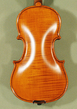 Antiqued 1/8 WORKSHOP 'GEMS 1' One Piece Back Violin on sale