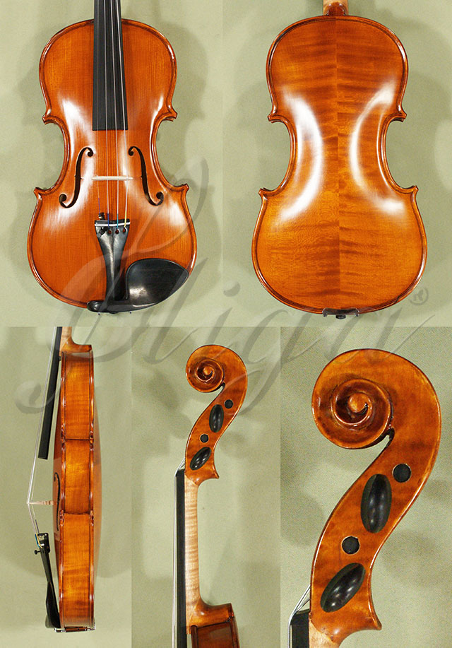 Antiqued 4/4 WORKSHOP 'GEMS 1' Left Handed Violin