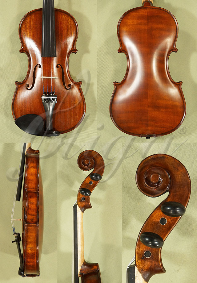 Stained Antiqued 4/4 School 'GENIAL 1-Oil' Violin