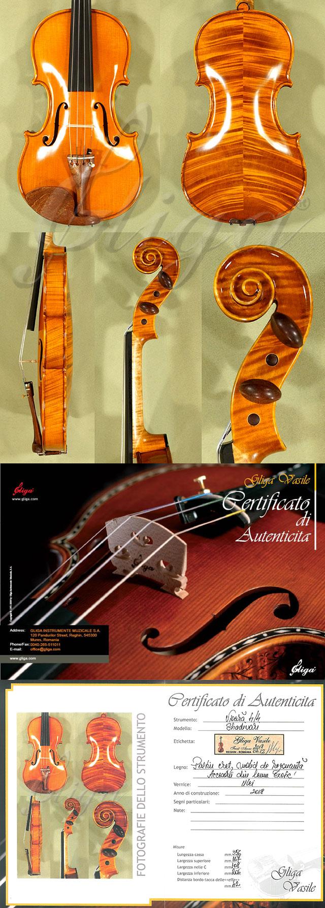 4/4 MAESTRO VASILE GLIGA Violin - Code C8192V