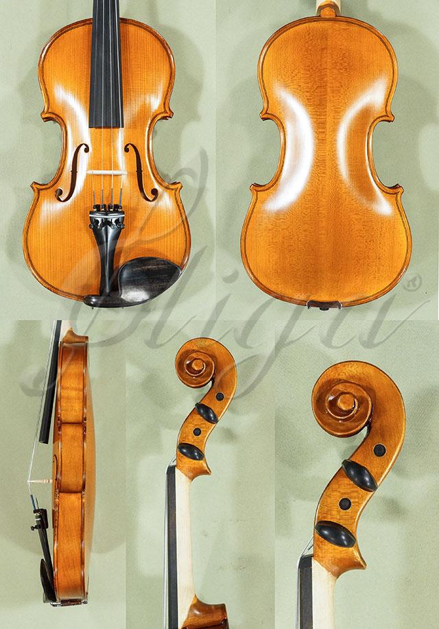 Antiqued 4/4 School 'GENIAL 1-Oil' Left Handed Violin