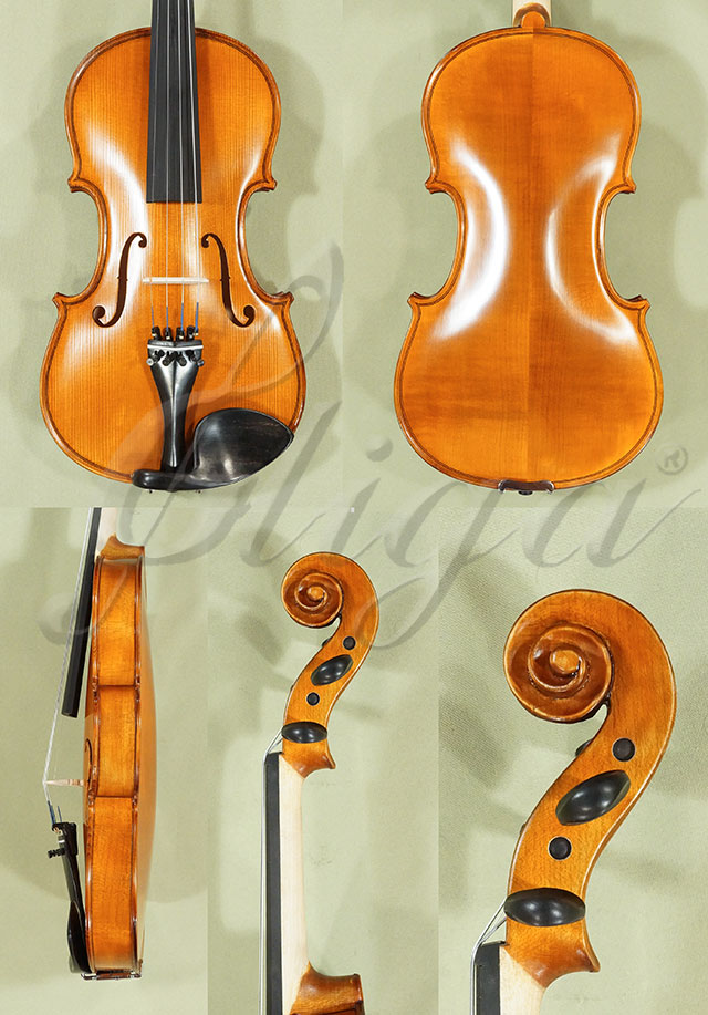 Antiqued 4/4 School 'GENIAL 1-Oil' Left Handed Violin