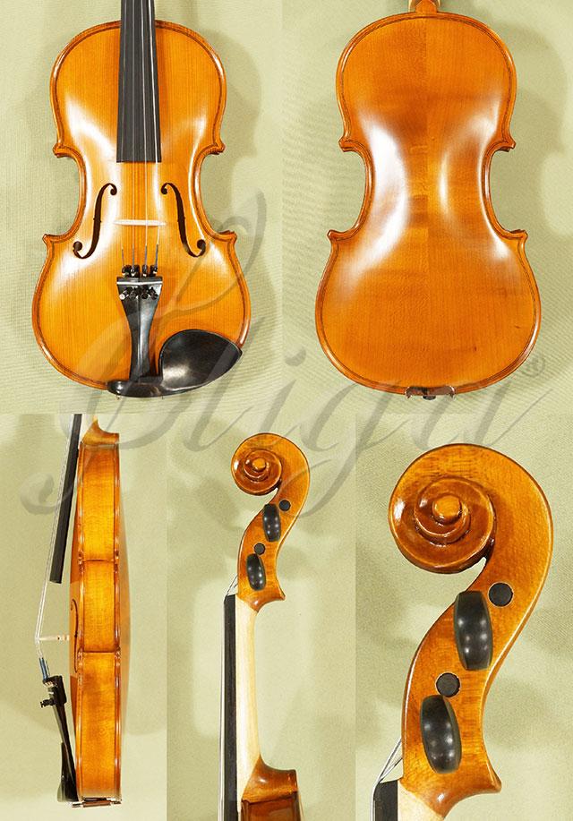 Antiqued 3/4 School 'GENIAL 1-Oil' Left Handed Violin