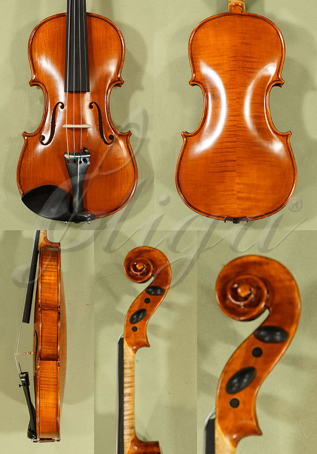 4/4 Gems 1 Advanced Level Violin Code C8280 - Antique Finish