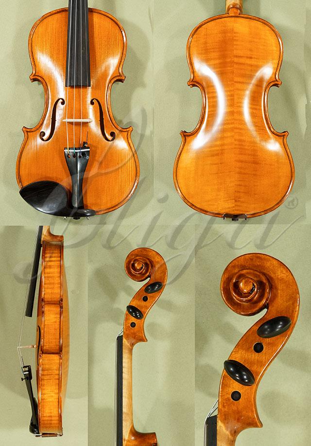 4/4 Gems 1 Advanced Level Violin Code C8281 - Antique Finish