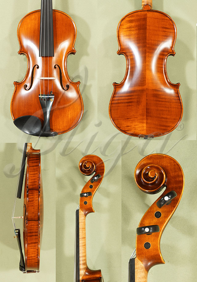 4/4 Gama Advanced Handmade Violin - Antique Finish - Code C8287V