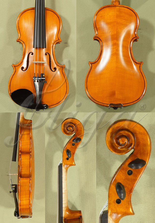 Antiqued 1/8 School 'GENIAL 1-Oil' Violin
