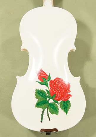 1/2 Student \'GEMS 2\' White Red Rose Violin on sale
