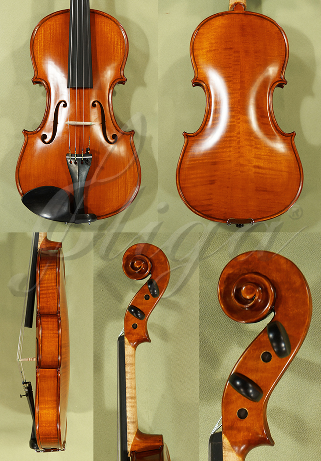 4/4 Gems 1 Advanced Level Violin Code C8555V - Antique Finish