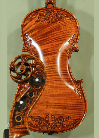 4/4 MAESTRO VASILE GLIGA Scroll One Piece Back Violin on sale