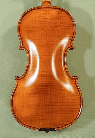 Antiqued 1/2 WORKSHOP 'GEMS 1' One Piece Back Violin on sale
