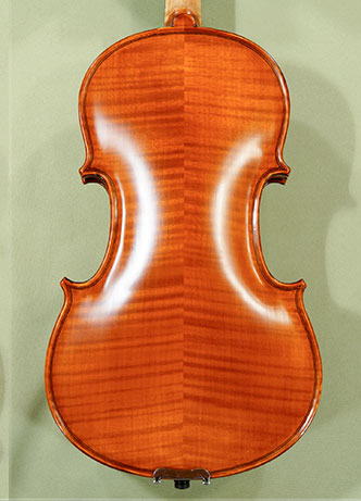 Antiqued 4/4 WORKSHOP 'GEMS 1' Left Handed Violin 'Guarneri' on sale