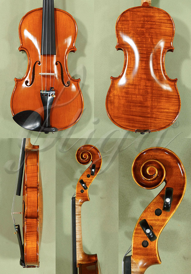 Antiqued 4/4 PROFESSIONAL 'GAMA Super' One Piece Back Violin