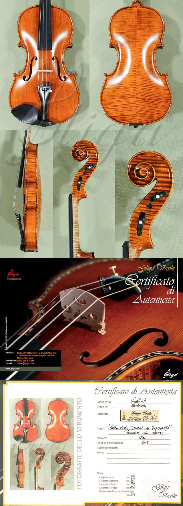 4/4 MAESTRO VASILE GLIGA Violin - Code C9454V