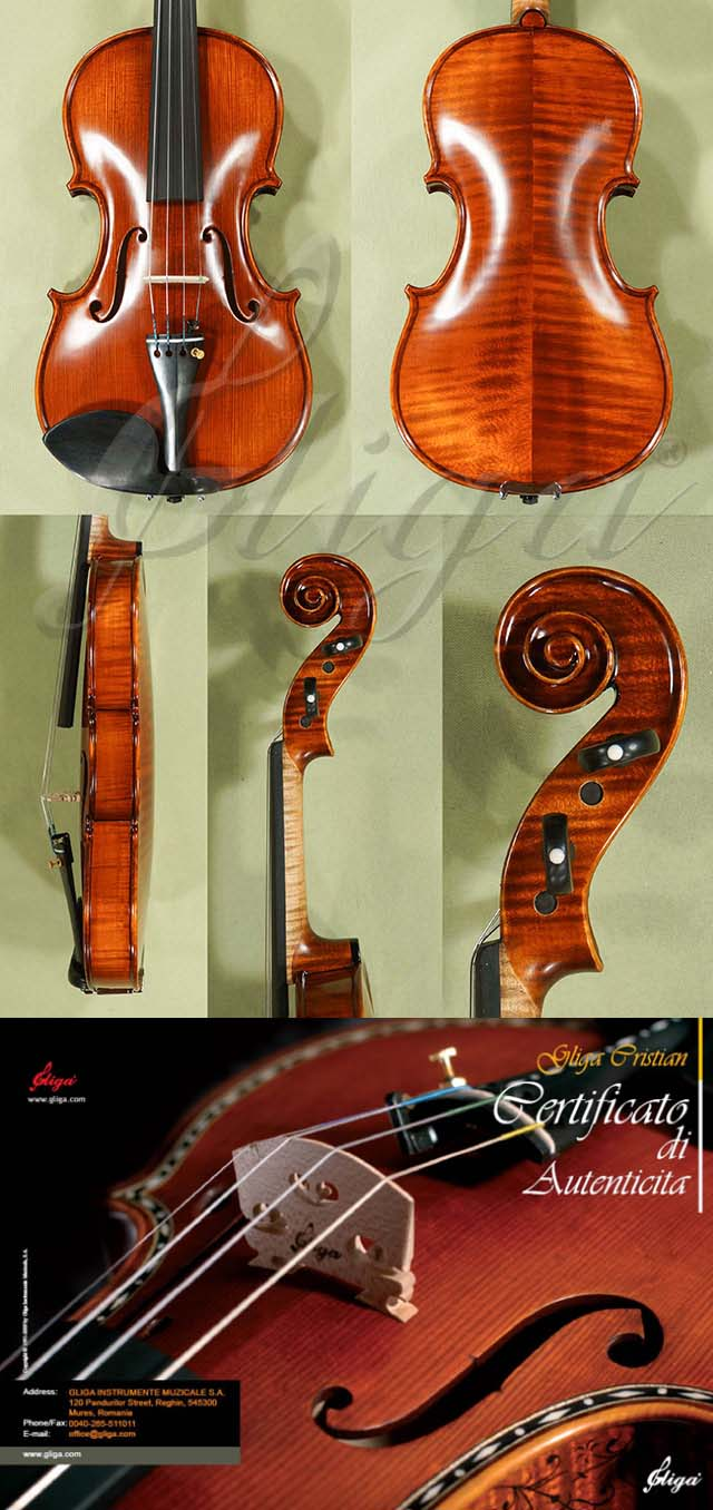 Antiqued 7/8 MAESTRO GLIGA Violin