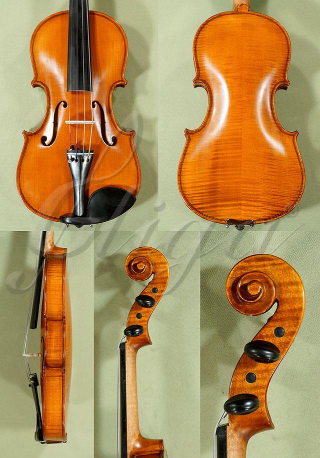 Antiqued 7/8 WORKSHOP 'GEMS 1' Left Handed Violin