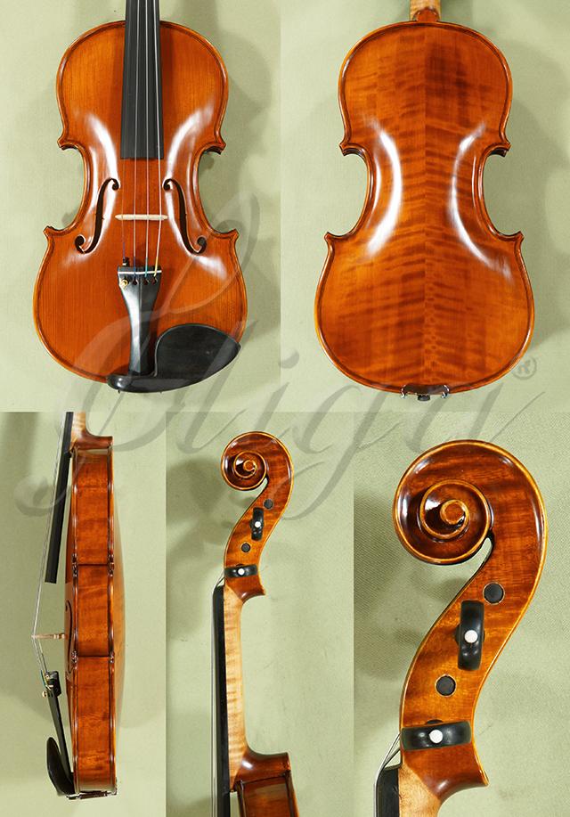 Antiqued 4/4 PROFESSIONAL 'GAMA' Left Handed Violin