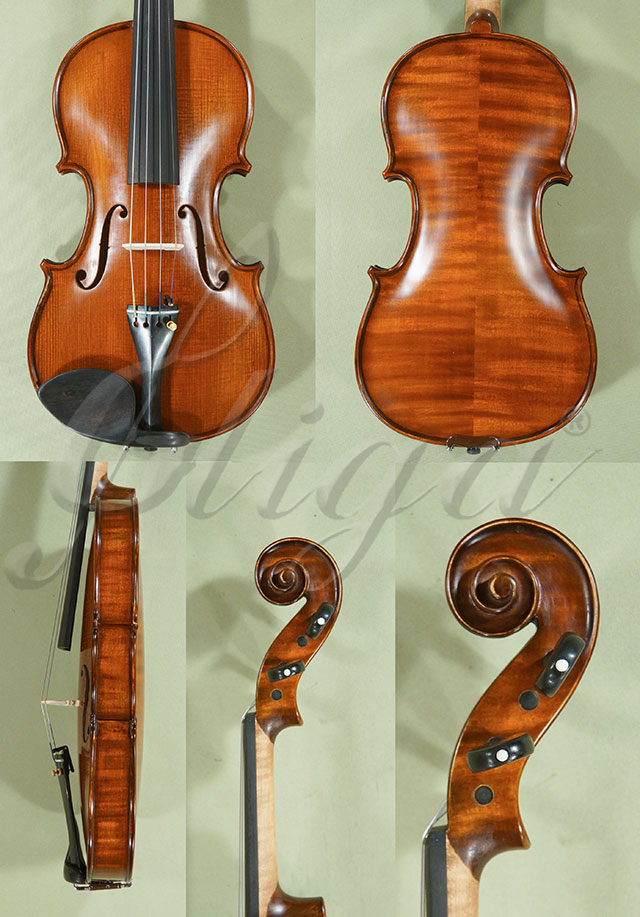 Stained Antiqued 7/8 PROFESSIONAL 'GAMA' Violin