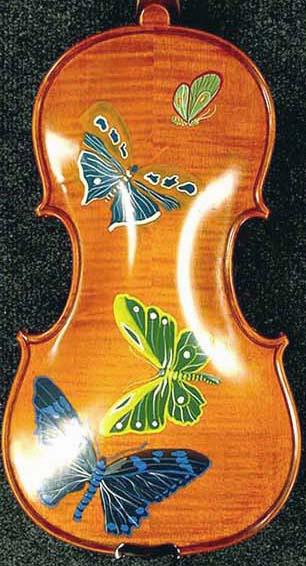7/8 WORKSHOP 'GEMS 1' Butterflies Violin on sale