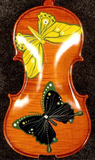 Artistic 1/4 WORKSHOP 'GEMS 1' One Piece Back Butterflies Violin on sale