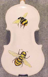 Artistic 1/8 ADVANCED Student 'GEMS 2' Bee White Violin on sale