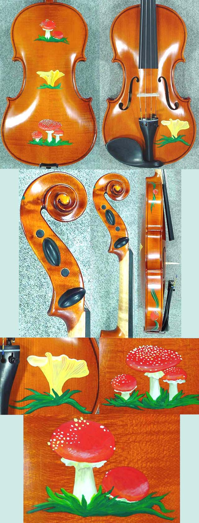 4/4 WORKSHOP 'GEMS 1' Mashrooms Violin