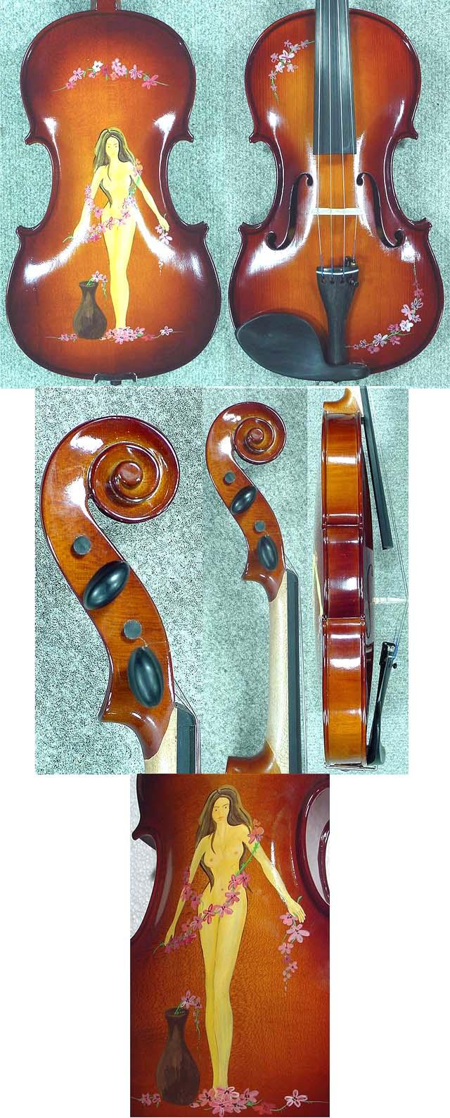 Artistic 4/4 School 'GENIAL 2-Nitro' Nude Violin