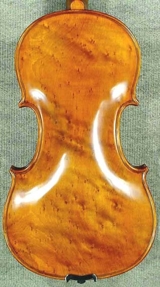 4/4 PROFESSIONAL 'GAMA' Bird's Eye Maple One Piece Back Violin on sale