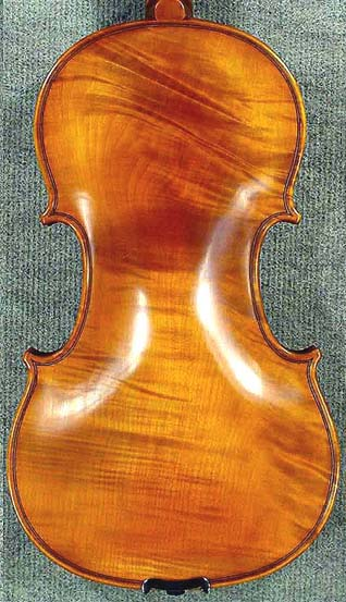 Special 4/4 PROFESSIONAL 'GAMA Super' Wild One Piece Back Violin on sale